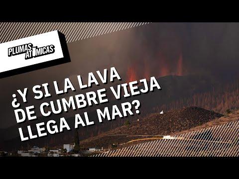¿Qué pasaría si la lava del volcán Cumbre Vieja llega al mar?