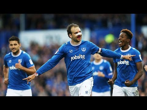 Highlights: Portsmouth 4-1 Fleetwood Town