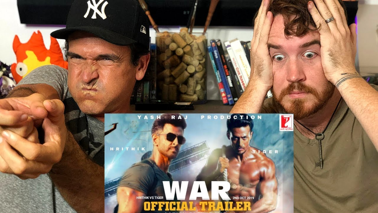 WAR | Official Trailer REACTION! | Hrithik Roshan | Tiger Shroff