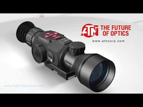 Atn X Sight Hd Ii Digital Night Vision Riflescope Feature Summary