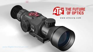 ATN X-Sight HD II Digital Night Vision Riflescope Feature Summary