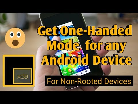 How To Install One-Handed Mode Feature In Any Android Device ?