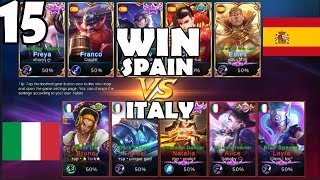 mobile legends national contest   spain win vs italy round 1