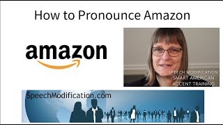 How to Pronounce Amazon SMART American Accent Training