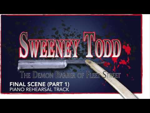 Final Scene (Part 1) - Sweeney Todd - Piano Accompaniment/Rehearsal Track