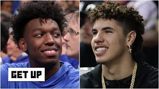 Why the Warriors drafted James Wiseman over LaMelo Ball | Get Up