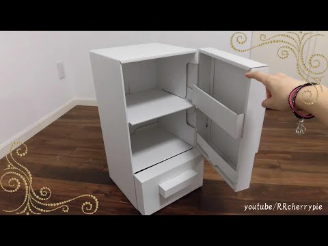 Refrigerator made of cardboard - Easy-to-Assemble