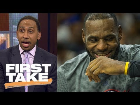 Stephen A. Smith says LeBron James should consider going to 76ers | First Take | ESPN