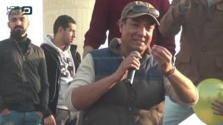 مصر العربية | قصائد هشام الجخ تختتم فعاليات معرض الكتاب