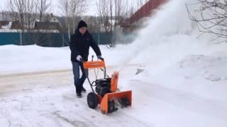 видео Снегоуборщик бензиновый DAST 6560 DAEWOO