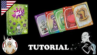How to play Virus!, Tutorial (ENGLISH) Board Game -Games On Board-