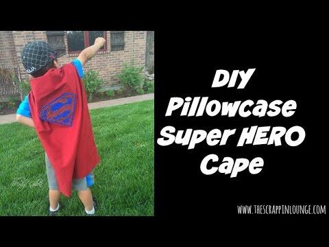 DIY Pillowcase Super Hero Cape & DIY Pillowcase Super Hero Cape - YouTube pillowsntoast.com