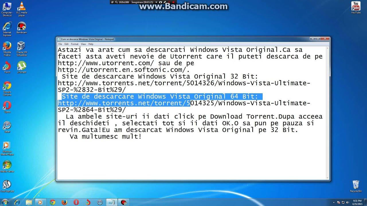 torrent windows vista ultimate 32 bit