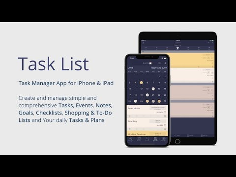 Task List - Task Manager & To-Do List App for iPhone & iPad (Free)