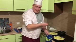 Лучший рецепт жареной картошки Вызываем ДЖАВИДА на батл Картофель по еврейски в сметане.