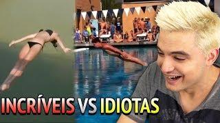 PESSOAS INCRÍVEIS vs. IDIOTAS - MERGULHO!