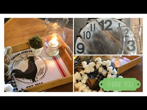 ~5 DIY's~ Country French Farmhouse style 2 For Spring 2018