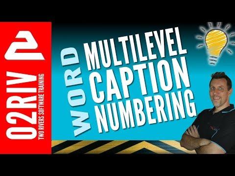 How To Do Multi-Level TABLE Numbering In Microsoft Word