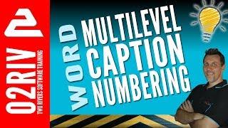 Multilevel Nummering In Word Voor Afbeeldingen, Tabellen en Vergelijkingen