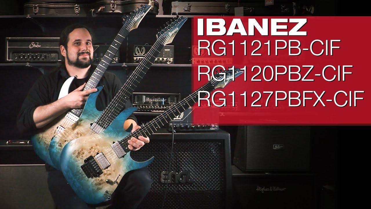 IBANEZ 2020 Premium Modelle