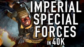 Enhanced Imperial Guard Units in Warhammer 40K For the Greater WAAAGH