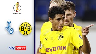 MSV Duisburg - Borussia Dortmund | Highlights - DFB-Pokal 2020/21 | 1. Runde