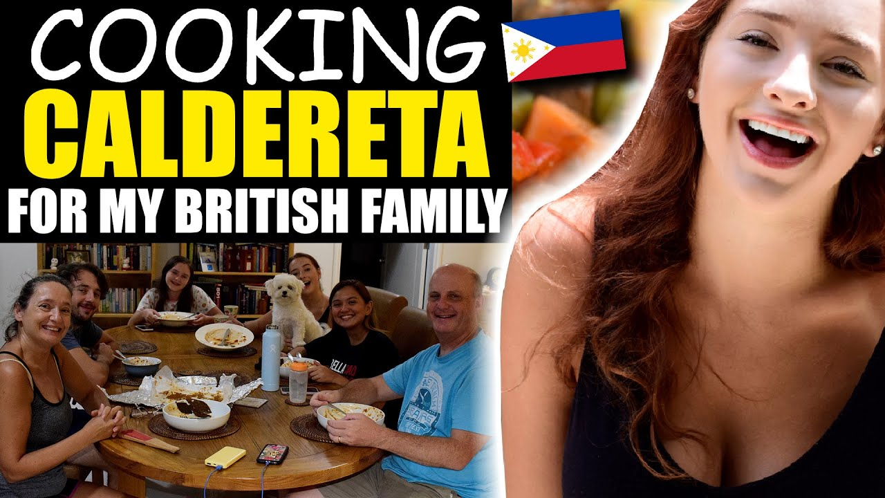 COOKING CALDERETA FOR MY BRITISH FAMILY - THEY LOVE IT