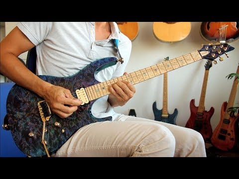 Kiesel DC600 - First Test Run (Acoustic/Electric)  - GS51 Guitar Solo - PART 2