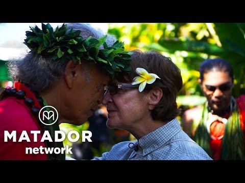 The Honi: A Polynesian Greeting