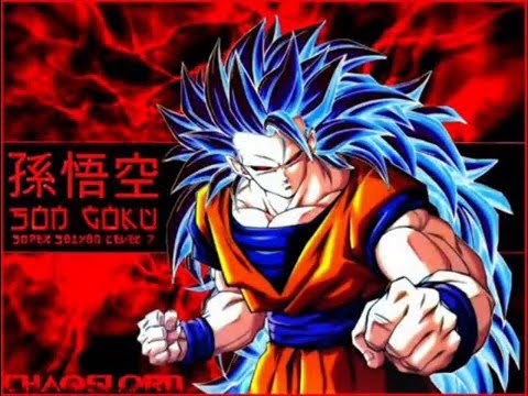 Goku super saiyan modes 1 12 youtube - Goku 5 super saiyan ...