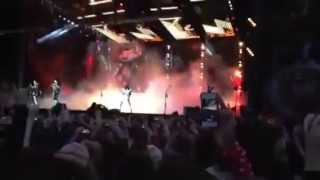 Kiss Live Download 2015, Opening Song, Detroit Rock City
