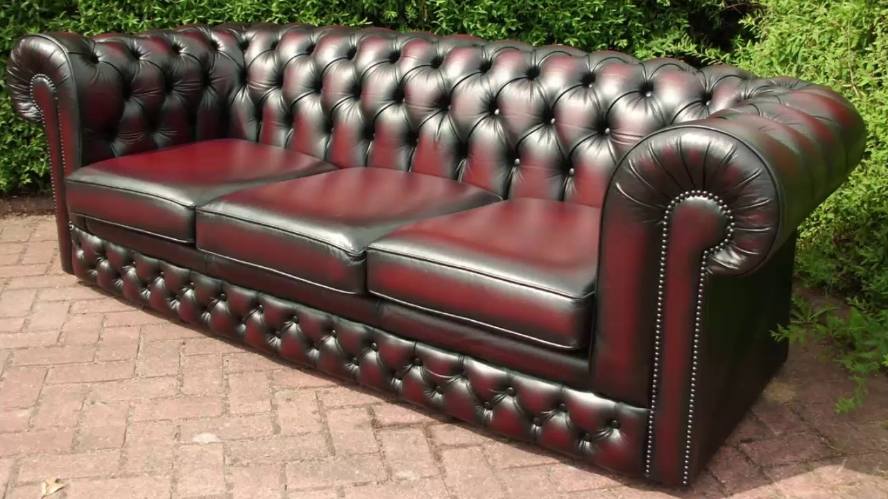 Leather Chesterfield Sofa Comfortable