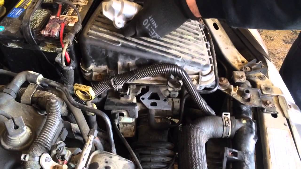 P0508 Idle Air Control Valve Replacement Youtube