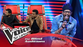 A R Jithendra - Dil Se Re | Blind Auditions | The Voice Sri Lanka Thumbnail