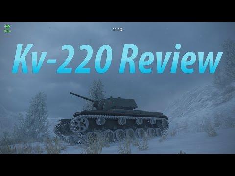 Kv-220 Tank Review! | WoT Console |