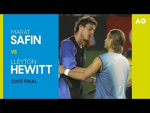 AO Classics: Marat Safin v Lleyton Hewitt (2005 F)