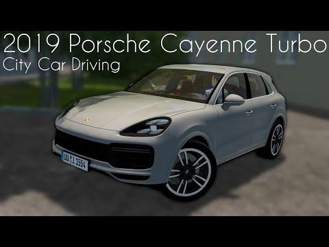 c5f7cc9a646 City Car Driving 1.5.7 - 2019 Porsche Cayenne Turbo - Custom Sound - Link  Soon