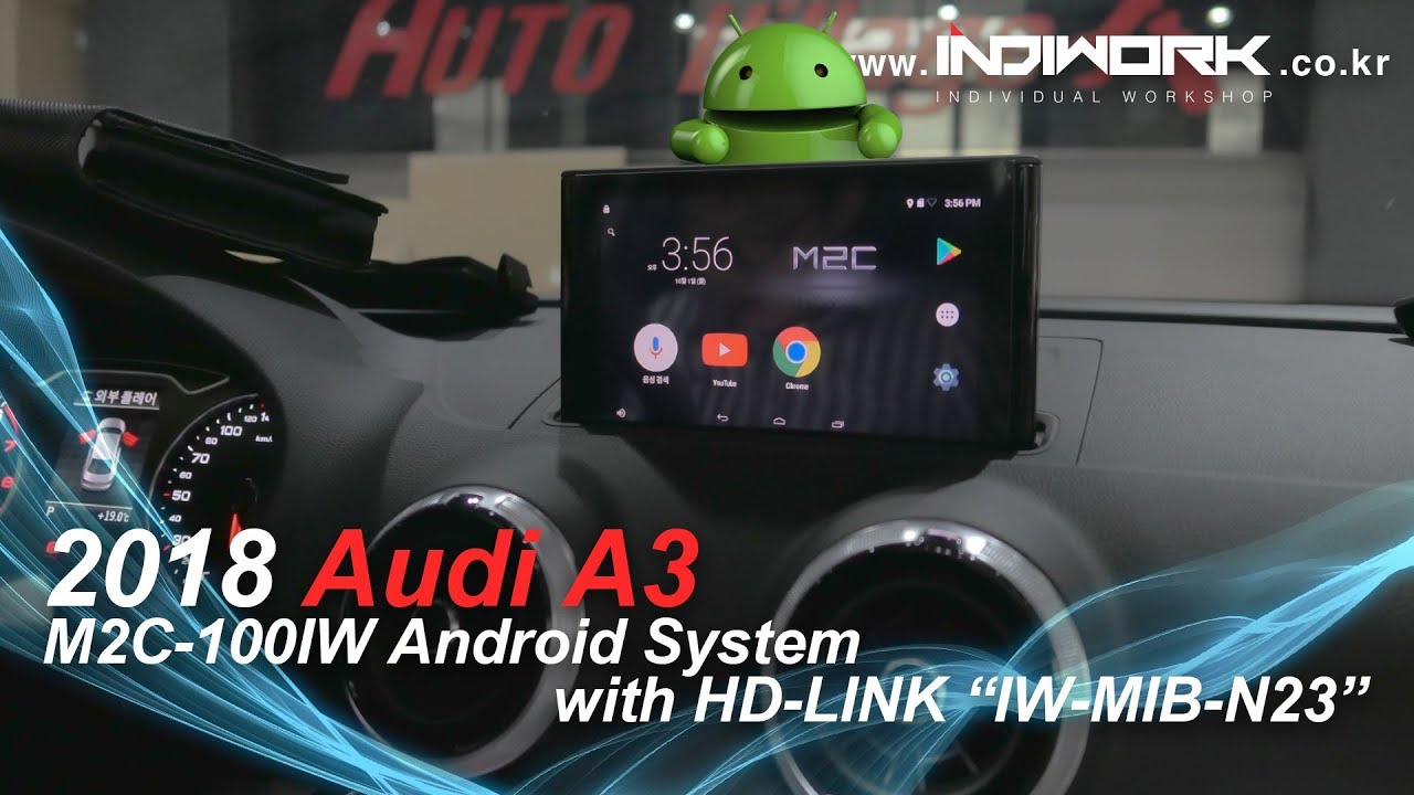 M2C-100IW Android for 2018 Audi A3 (8V) | INDIWORK