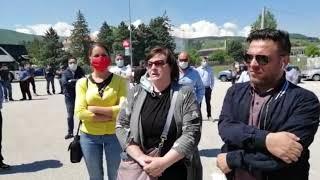 Protesta Ncc e autobus a Campobasso