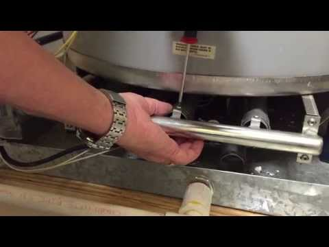 How to clean the ignitor on State Water Heater