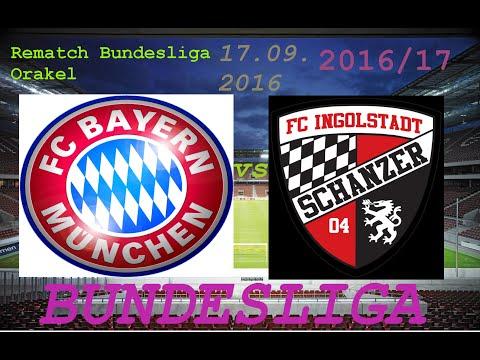 Rematch Bundesliga ORAKEL |17.09.2016 FC Bayern München . FC Ingolstadt