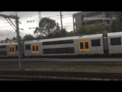 Sydney To Brisbane By V Set And XPT July 2016 (Part 1)