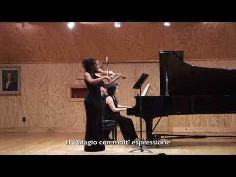 Beethoven: Sonata for Violin and Piano, Op. 12, No. 3 - Njioma Grevious