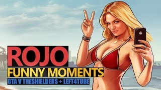 Funny Moments #81: RichZone & TheShielders w GTAV Online (Rojo & Urhara)