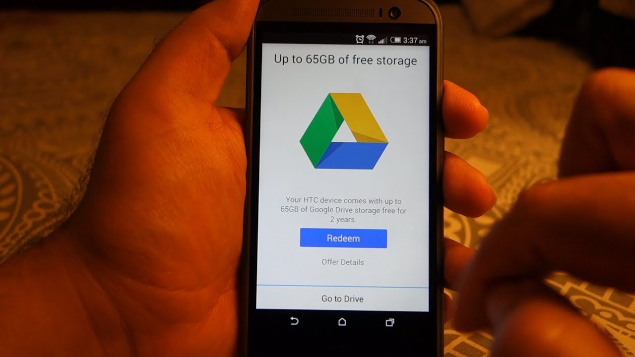 Htc One M8 How To Redeem Your Free 50gb Google Drive Storage You