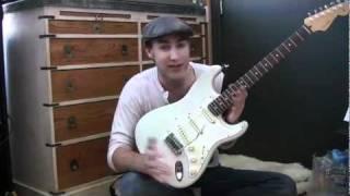 Hướng dẫn học guitar - Cấu tạo của đàn guitar