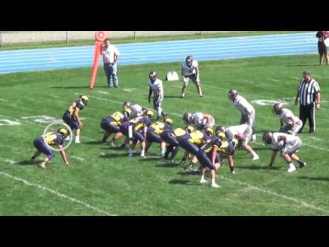Mitch Weist FB Senior Season Highlights 2016 Harpursville, NY
