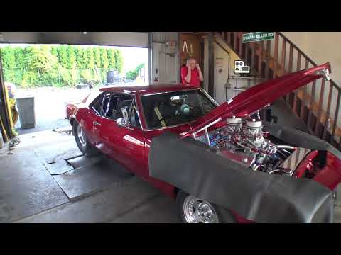 Jims 555 Big Block Chevy 67 Camaro Tuning