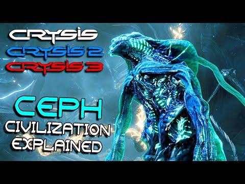 The History Of Alien Ceph Civilization Crysis Trilogy Lore Youtube