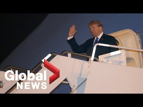 Donald Trump arrives in Vietnam for second summit with Kim Jong Un